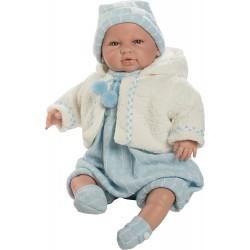 Berbesa- Muñeco bebé Saoro,...
